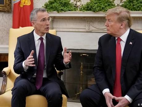 Tổng thống Mỹ Donald Trump sắp hội đàm với Tổng thư ký NATO | Châu Mỹ | Vietnam+ (VietnamPlus)