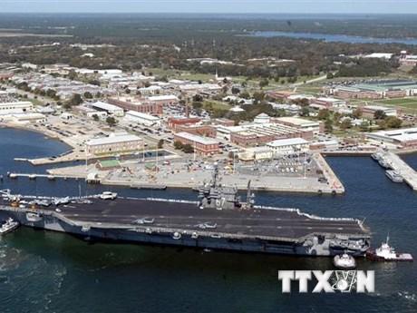 Mỹ xác định được danh tính thủ phạm xả súng tại căn cứ hải quân | Châu Mỹ | Vietnam+ (VietnamPlus)