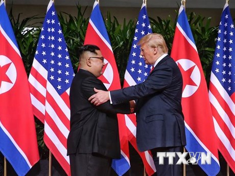 Tổng thống Trump: Ông Kim Jong-un không muốn can thiệp vào bầu cử Mỹ | Châu Á-TBD | Vietnam+ (VietnamPlus)