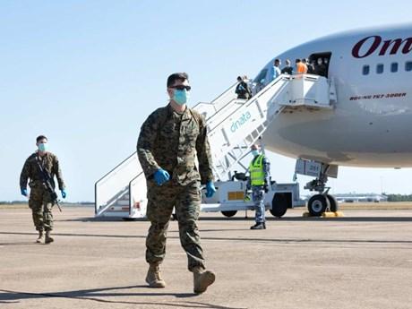 Lính thủy đánh bộ Mỹ ở Bắc Australia dương tính với virus SARS-CoV-2
