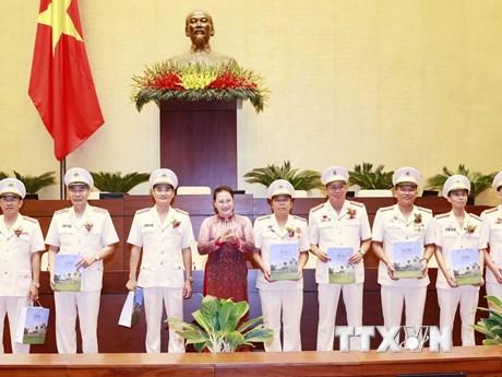 Chủ tịch Quốc hội gặp mặt điển hình tiên tiến bảo vệ an ninh Tổ quốc - kết quả xổ số ninh thuận
