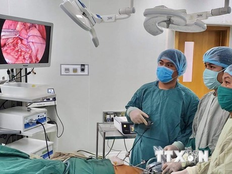 Cấp cứu thành công cho một cụ bà có dạ dày nằm trong lồng ngực