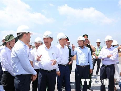 ''Không để lấn chiếm, xây dựng trái phép dự án sân bay Long Thành''