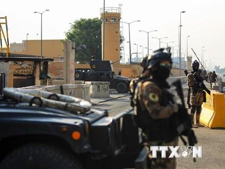 Iraq: Phiến quân tấn công bằng rocket nhằm vào binh sỹ Mỹ