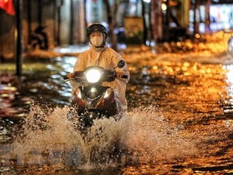 Hà Nội có mưa và dông từ chiều tối 6/6, nhiệt độ cao nhất 33 độ C