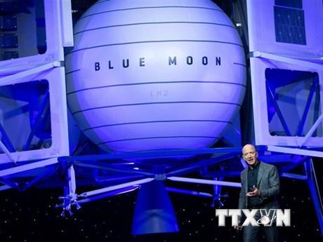 Jeff Bezos quyết giành hợp đồng chế tạo tàu đổ bộ Mặt Trăng cho NASA