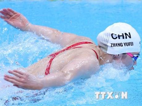 Bơi lội Trung Quốc phá kỷ lục thế giới nội dung bơi tiếp sức tự do nữ