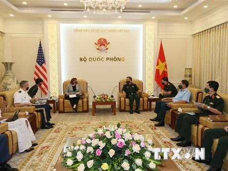 Việt Nam-Hoa Kỳ thúc đẩy khắc phục hậu quả chất độc hóa học/dioxin - bơi