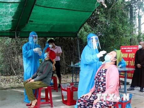 Dịch COVID-19 tại Quảng Ngãi vẫn còn diễn biến phức tạp