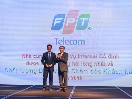 Vinh danh nhà cung cấp Internet băng rộng di động, cố định xuất sắc | Công nghệ | Vietnam+ (VietnamPlus)