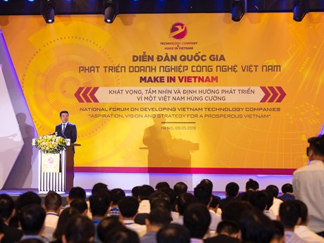 'Make in Vietnam' sẽ giúp Việt Nam thịnh vượng và hòa bình lâu dài | Công nghệ | Vietnam+ (VietnamPlus)