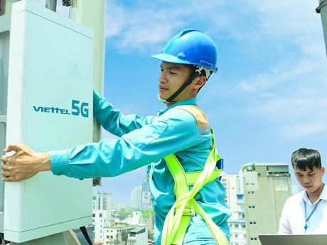 Viettel chính thức phát sóng 5G tại Thành phố Hồ Chí Minh | Công nghệ | Vietnam+ (VietnamPlus)