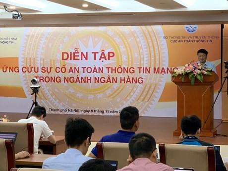Diễn tập thực chiến an toàn thông tin đối với lĩnh vực ngân hàng | Công nghệ | Vietnam+ (VietnamPlus)