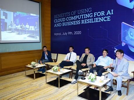 Việt Nam đang ở giai đoạn tốt nhất để bùng nổ điện toán đám mây và AI | Công nghệ | Vietnam+ (VietnamPlus)
