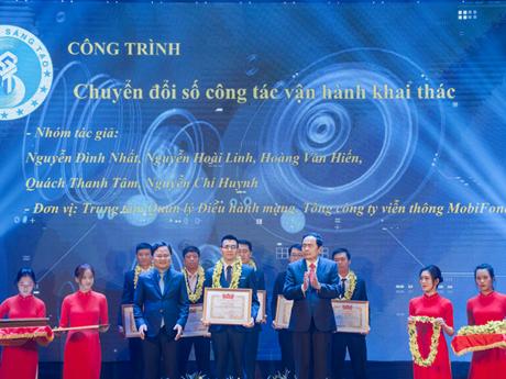 MobiFone nhận giải tại Liên hoan Tuổi trẻ Sáng tạo toàn quốc năm 2020