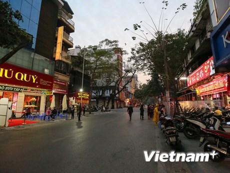 'Phố vàng' ở Thủ đô kém sắc hơn mọi năm trong ngày vía Thần Tài 2021