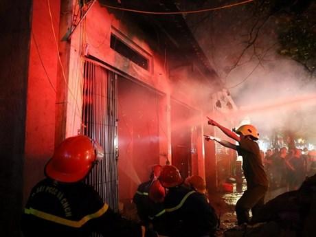 [Photo] Điện Biên: Cháy trong đêm thiêu rụi một nhà dân