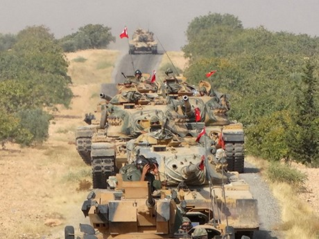 Thổ Nhĩ Kỳ tăng cường quân sự ở biên giới với Syria