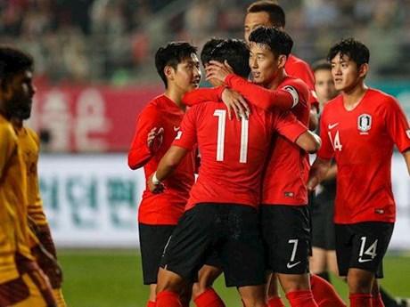 Vòng loại World Cup 2022: Đội tuyển Hàn Quốc đã tới Bình Nhưỡng | Bóng đá | Vietnam+ (VietnamPlus)