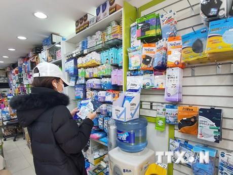 Hàn Quốc thắt chặt kiểm soát xuất khẩu khẩu trang trong dịch COVID-19