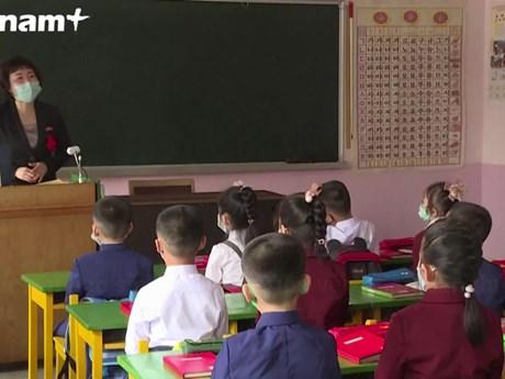 [Video] Triều Tiên mở cửa lại trường học sau dịch COVID-19