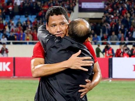 HLV Park Hang-seo: 'Tôi muốn giữ Anh Đức ở lại tuyển Việt Nam'   Bóng đá   Vietnam+ (VietnamPlus)