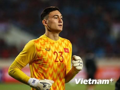 Đặng Văn Lâm: 'Chúng ta hãy mơ về World Cup và cố gắng từng trận đấu' | Bóng đá | Vietnam+ (VietnamPlus)