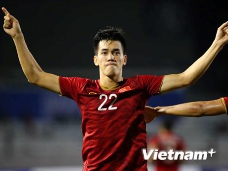 Bảng xếp hạng Vua phá lưới SEA Games 30: Đức Chinh, Tiến Linh áp sát ngôi đầu | Bóng đá | Vietnam+ (VietnamPlus)