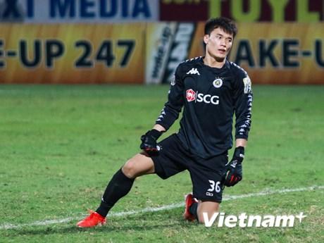 Thủ môn Bùi Tiến Dũng chia tay Hà Nội FC, chuyển tới TP.HCM | Bóng đá | Vietnam+ (VietnamPlus)