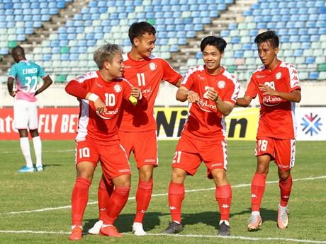 Công Phượng và Văn Quyết được AFC Cup vinh danh | Bóng đá | Vietnam+ (VietnamPlus)