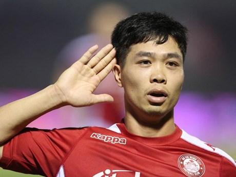 Công Phượng, Bùi Tiến Dũng chơi ấn tượng giúp TP.HCM đầu bảng V-League | Bóng đá | Vietnam+ (VietnamPlus)