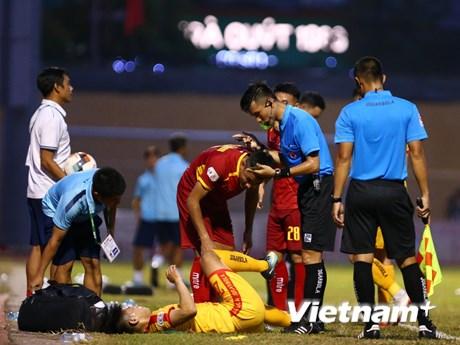 Trọng tài V-League sai chuyên môn thuần túy, chưa tiêu cực về tư tưởng   Bóng đá   Vietnam+ (VietnamPlus)