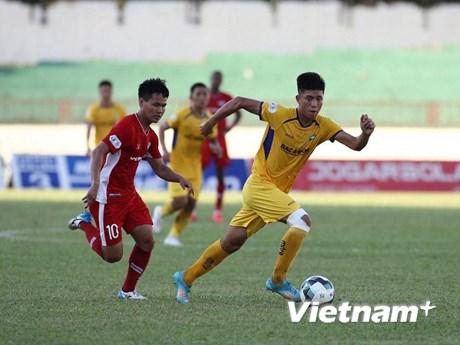 Kết quả V-League: SLNA nối dài khủng hoảng, Viettel vươn lên hạng hai  | Bóng đá | Vietnam+ (VietnamPlus)