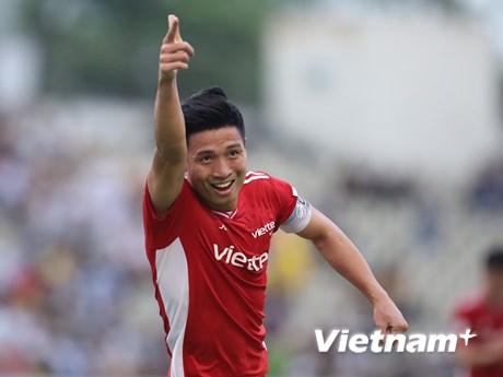 V-League 2021: Bùi Tiến Dũng ghi bàn, Viettel đả bại Sông Lam Nghệ An