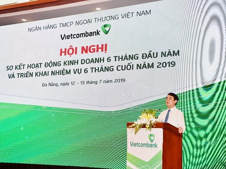 6 tháng, lợi nhuận trước thuế của Vietcombank đạt hơn 11.000 tỷ đồng