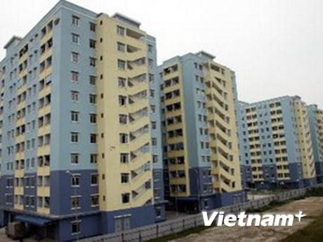 Thi kiến trúc nhà chung cư cho người thu nhập thấp