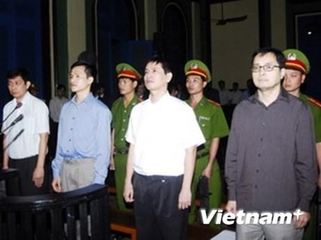 Y án với Trần Huỳnh Duy Thức và Lê Công Định