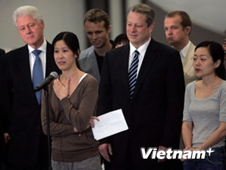 Hai nữ nhà báo Mỹ bị Triều Tiên bắt giữ lên tiếng