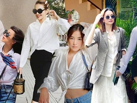 7 gợi ý phối trang phục với sơmi trắng cho mùa Hè từ...