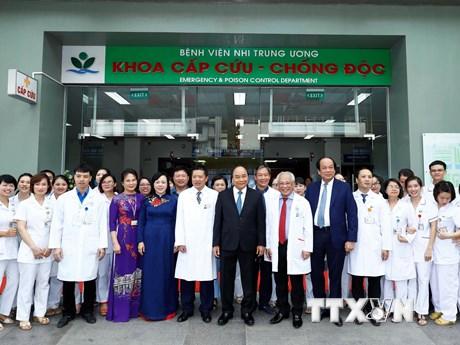 Thủ tướng dự Lễ kỷ niệm 50 năm thành lập Bệnh viện nhi Trung ương | Y tế | Vietnam+ (VietnamPlus)