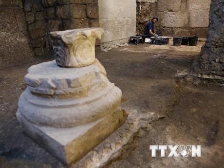 Israel: Những căn phòng bí ẩn dưới lòng đất có niên đại 2000 năm trước | Khoa học | Vietnam+ (VietnamPlus)