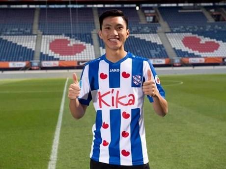 Đoàn Văn Hậu giãi bày tiếc nuối khi phải rời SC Heerenveen về nước | Bóng đá | Vietnam+ (VietnamPlus)