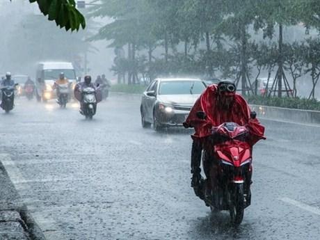 Đêm 15/7, cả nước có mưa rào và dông, đề phòng thời tiết nguy hiểm | Môi trường | Vietnam+ (VietnamPlus)