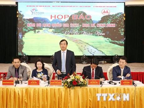 Ninh Bình tổ chức họp báo giới thiệu về Năm Du lịch Quốc gia 2021