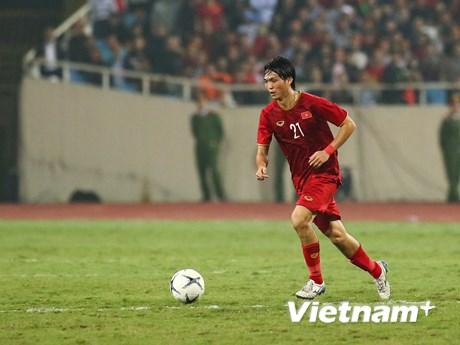 Tuyển Việt Nam không đá giao hữu với Iraq vì dịch bệnh COVID-19 | Bóng đá | Vietnam+ (VietnamPlus)