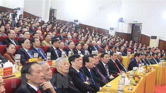 Ông Hoàng Trung Dũng được bầu giữ chức Bí thư Tỉnh ủy Hà Tĩnh