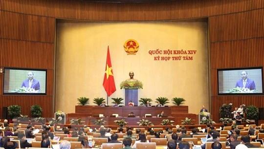 Toàn văn Thông cáo số 01 Kỳ họp thứ 8, Quốc hội khóa XIV