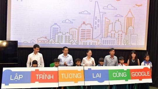 Google miễn phí 10.000 giờ học lập trình cho học sinh Việt Nam