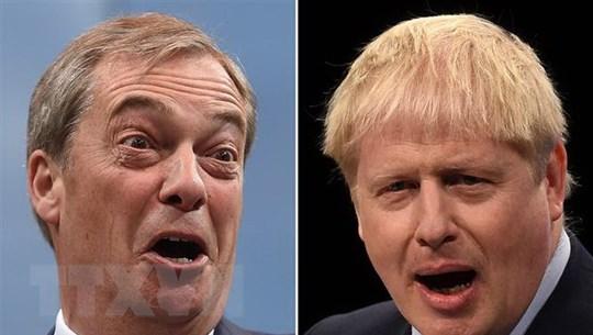 Đảng Bảo thủ cầm quyền giành được sự ủng hộ đáng kể của Đảng Brexit