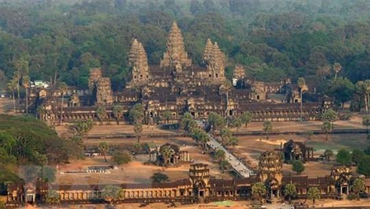 Campuchia: Lượng du khách quốc tế đến kỳ quan Angkor giảm mạnh